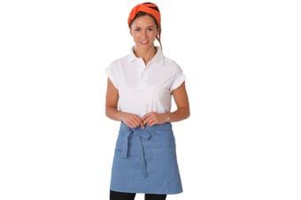 Dennys Unisex Adults Denim Waist Apron With Pocket (Light Blue) (One Size)