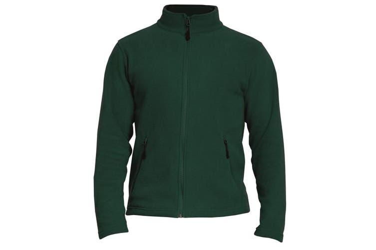Gildan Adults Unisex Hammer Micro-Fleece Jacket (Forest Green) (M)