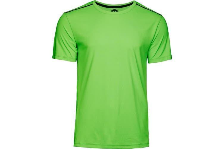 Tee Jays Mens Luxury Sport Tee (Shocking Green) (S)