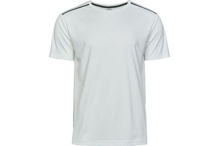 Tee Jays Mens Luxury Sport Tee (White) (XL)