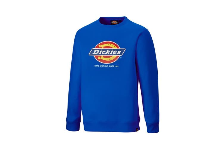 Dickies Adults Unisex Longton Branded Sweatshirt (Royal Blue) (2XL)