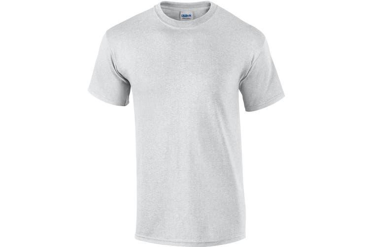 Gildan Mens Ultra Cotton Short Sleeve T-Shirt (Sport Grey) (XL)