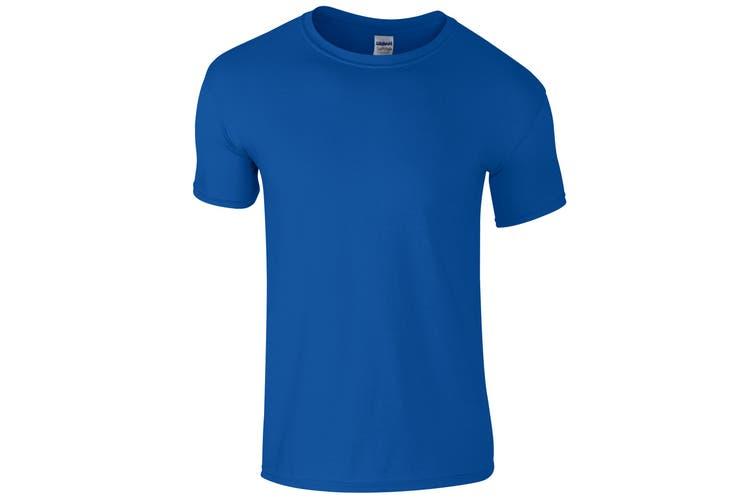 Gildan Childrens Unisex Soft Style T-Shirt (Royal) (XL)