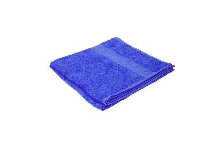 Jassz Plain Bath Towel 70cm x 140cm (350 GSM) (Royal) (One Size)