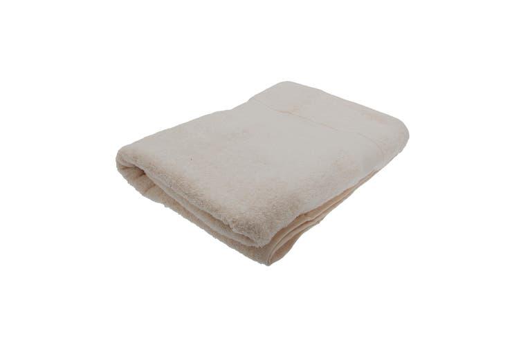 Jassz Premium Heavyweight Plain Big Towel / Bath Sheet (Sand) (One Size)