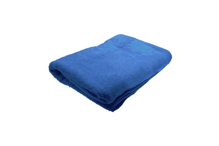 Jassz Premium Heavyweight Plain Big Towel / Bath Sheet (Royal) (One Size)