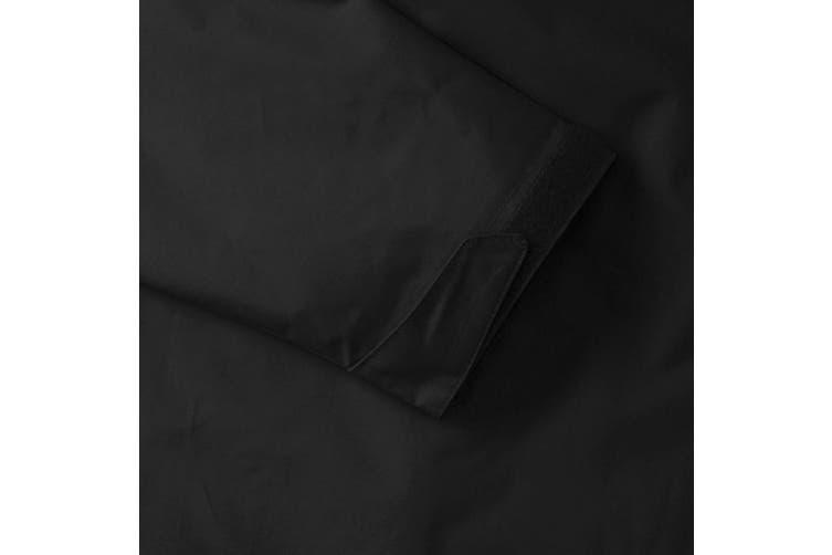Jerzees Colours Mens Premium Hydraplus 2000 Water Resistant Jacket (Black) (XL)