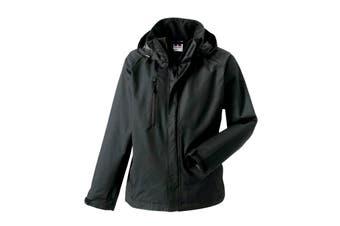Jerzees Colours Mens Premium Hydraplus 2000 Water Resistant Jacket (Titanium) (M)
