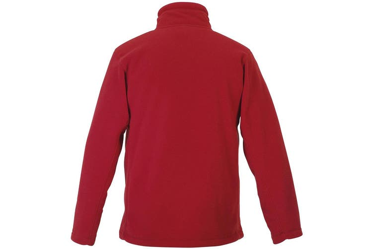 Russell Mens Full Zip Outdoor Fleece Jacket (Classic Red) (S)