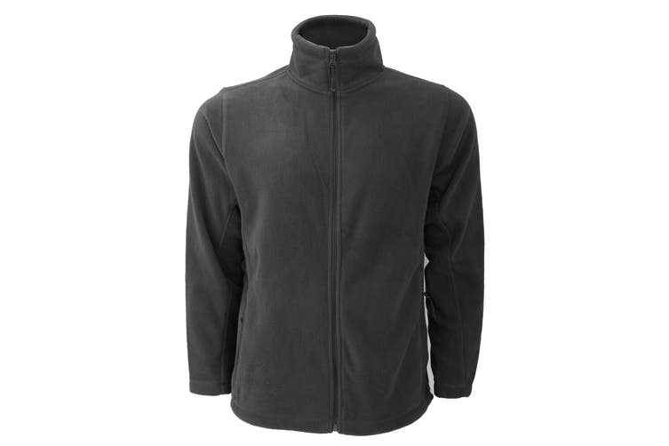 Russell Mens Full Zip Outdoor Fleece Jacket (Convoy Grey) (S)