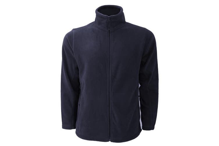 Russell Mens Full Zip Outdoor Fleece Jacket (French Navy) (L)