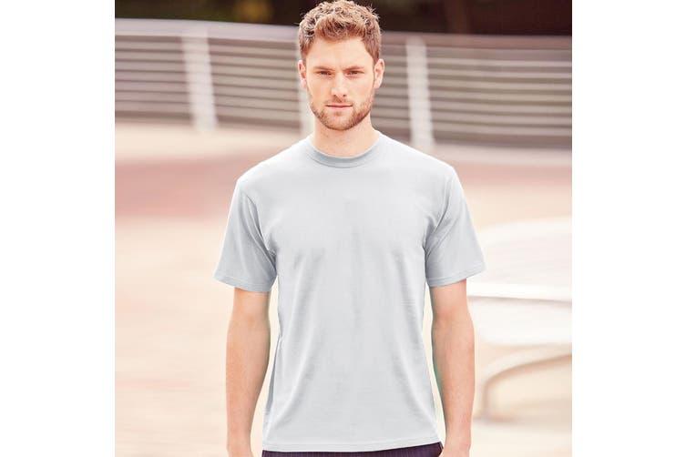 Jerzees Colours Mens Classic Short Sleeve T-Shirt (White) (4XL)