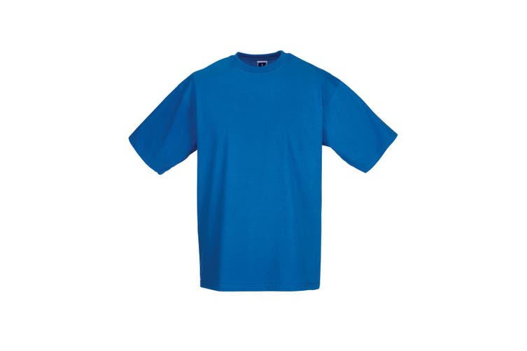Jerzees Colours Mens Classic Short Sleeve T-Shirt (Azure Blue) (S)