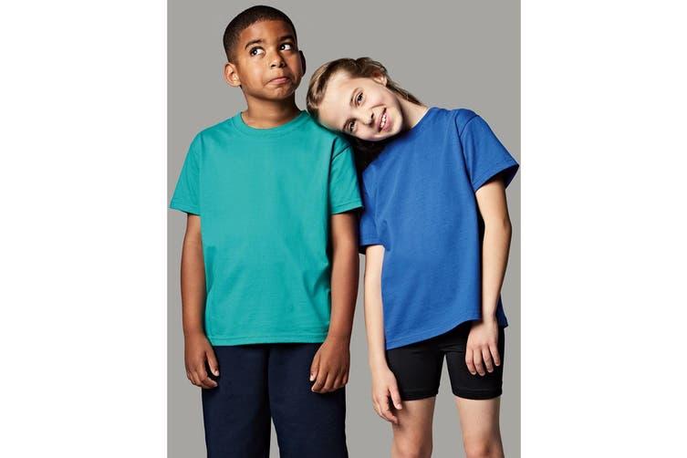 Jerzees Schoolgear Childrens Classic Plain T-Shirt (Winter Emerald) (9-10)