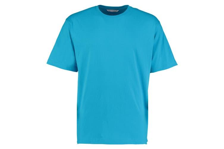 Kustom Kit Hunky Superior Mens Short Sleeve T-Shirt (Turquoise) (XL)