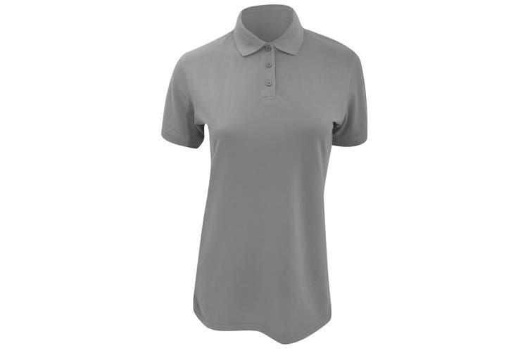 Kustom Kit Ladies Klassic Superwash Short Sleeve Polo Shirt (Graphite) (12)