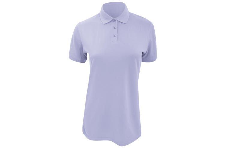 Kustom Kit Ladies Klassic Superwash Short Sleeve Polo Shirt (Light Blue) (8)