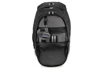 Quadra Vessel Laptop Backpack Bag - 26 Litres (Black) (One Size)
