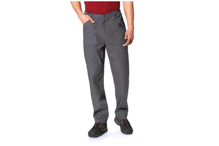 Regatta Mens New Action Trouser (Regular) / Pants (Dark Grey) (42W x Regular)