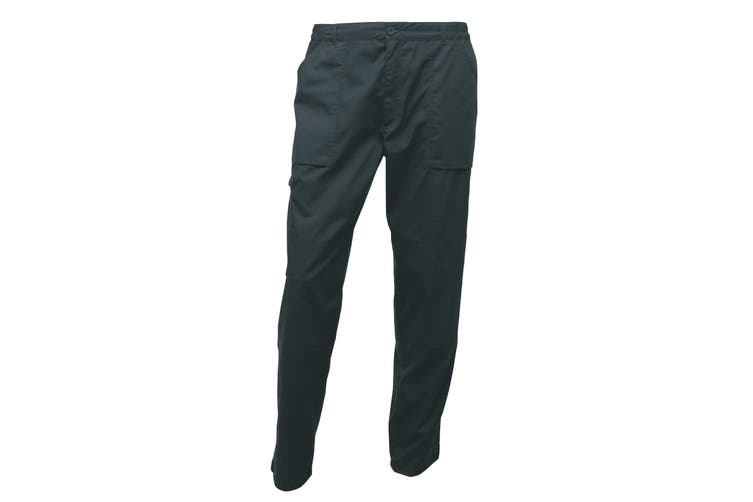 Regatta Mens New Action Trouser (Regular) / Pants (Green) (30W x Regular)