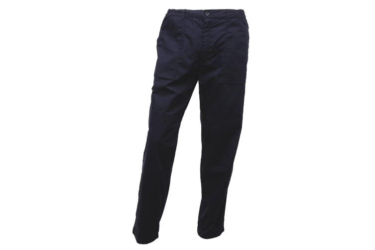 Regatta Mens New Action Trouser (Regular) / Pants (Navy Blue) (28W x Regular)
