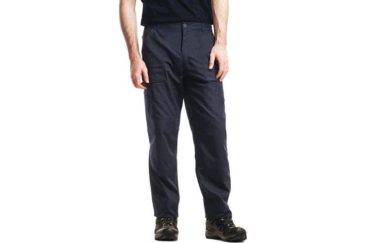 Regatta Mens New Action Trouser (Regular) / Pants (Navy Blue) (36W x Regular)