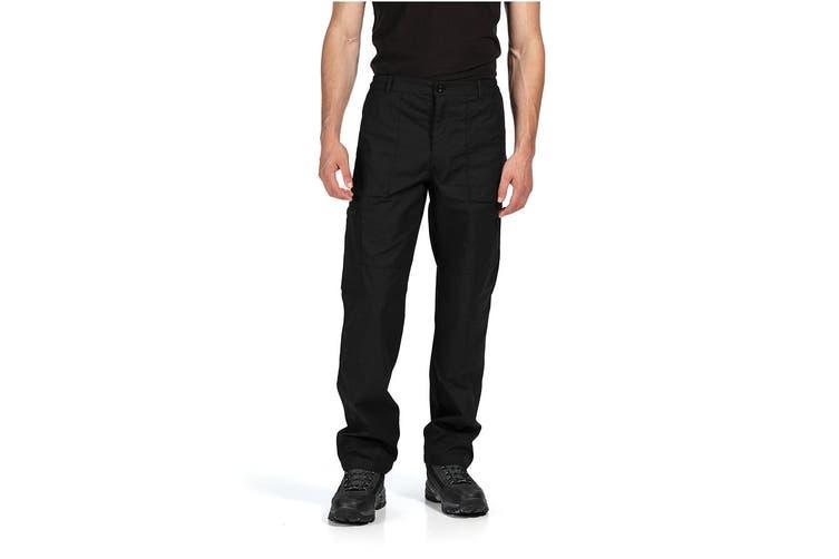Regatta Mens New Action Pants (Black) (28W x Short)