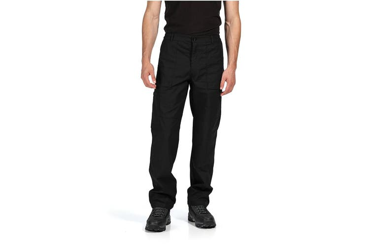 Regatta Mens New Action Pants (Black) (34W x Short)