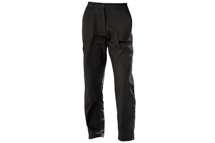 Regatta Ladies New Action Trouser (Long) / Pants (Black) (20 UK)