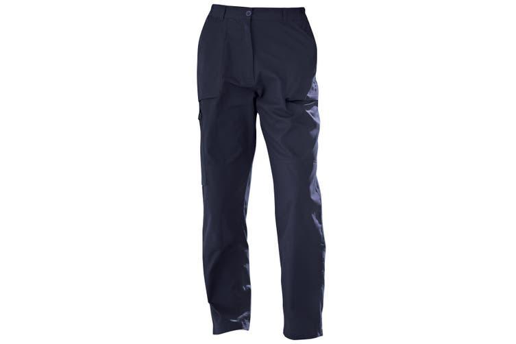 Regatta Ladies New Action Trouser (Short) / Pants (Navy Blue) (10 UK)