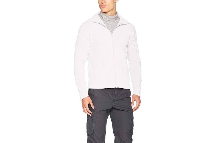 Result Core Mens Micron Anti Pill Fleece Jacket (White) (XS)