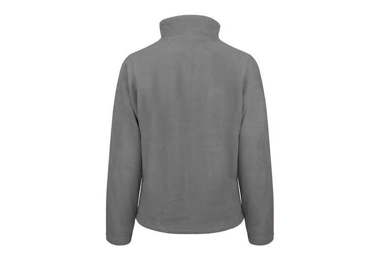 Result Ladies/Womens La Femme® High Grade Microfleece Jacket (490 GSM) (Dove Grey) (M)