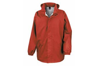 Result Mens Core Midweight Waterproof Windproof Jacket (Red) (M)