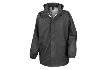 Result Mens Core Midweight Waterproof Windproof Jacket (Black) (XL)