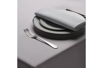 Belledorm Amalfi Rectangular Table Cloth (Medrite Grey) - UTBM103