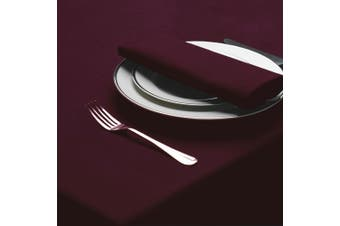 Belledorm Amalfi Rectangular Table Cloth (Maroon) - UTBM103