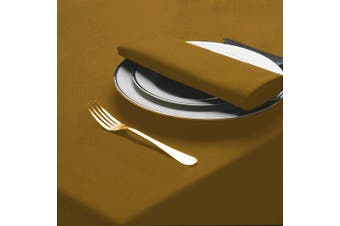 Belledorm Amalfi Round Table Cloth (Gold) (One Size)