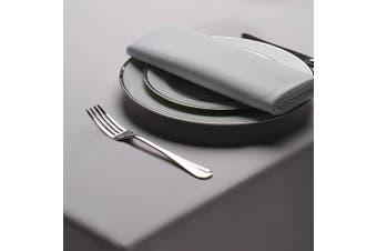 Belledorm Amalfi Round Table Cloth (Grey) (One Size)