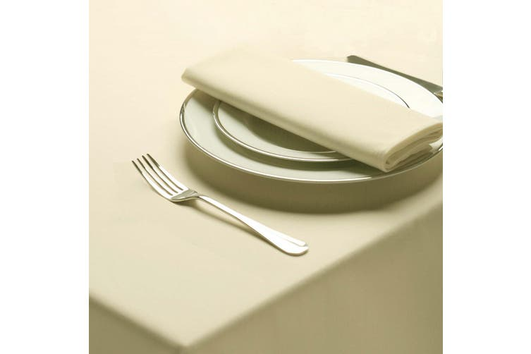 Belledorm Amalfi Round Table Cloth (Ivory) (One Size)