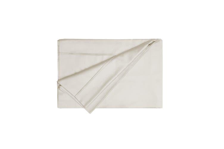 Belledorm 200 Thread Count Egyptian Cotton Flat Sheet (Ivory) (Single)