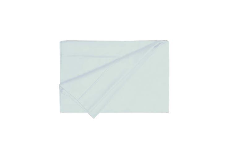 Belledorm 200 Thread Count Egyptian Cotton Flat Sheet (Ocean) (Double)