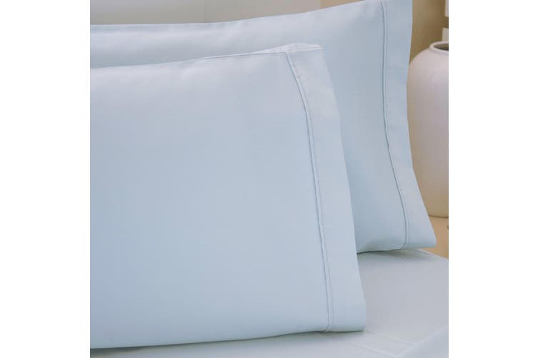 Belledorm 200 Thread Count Egyptian Cotton Housewife Pillowcases (Pair) (Ocean) (One Size)