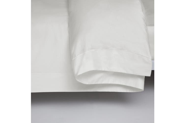 Belledorm 400 Thread Count Egyptian Cotton Oxford Duvet Cover (Ivory) (Single)