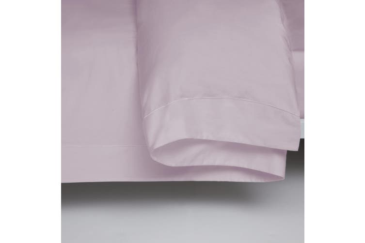 Belledorm 400 Thread Count Egyptian Cotton Oxford Duvet Cover (Mulberry) (Double)