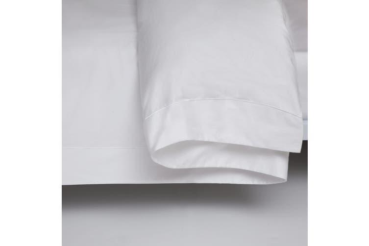 Belledorm 400 Thread Count Egyptian Cotton Oxford Duvet Cover (White) (Kingsize)