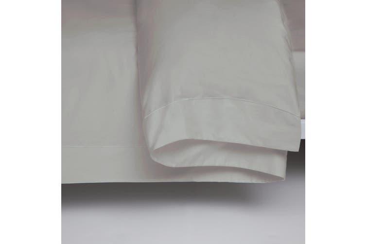 Belledorm 400 Thread Count Egyptian Cotton Oxford Duvet Cover (Platinum) (Superking)