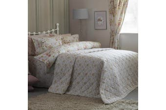Belledorm Cherry Blossom Bedspread (Ivory) - UTBM147