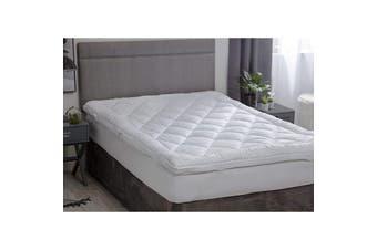Belledorm Hotel Suite Dual Layer Mattress Topper (White) - UTBM209