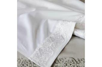 Belledorm Felicity Flat Sheet (White) - UTBM247