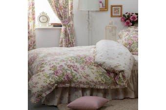 Belledorm Rose Boutique Duvet Cover (Ivory/Pink/Green) - UTBM274